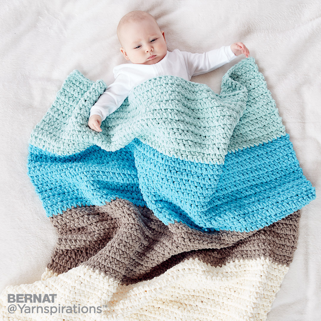 Bernat Crochet Baby Blanket New Colorblock Crochet Blanket Crochet Pattern Of Wonderful 44 Models Bernat Crochet Baby Blanket