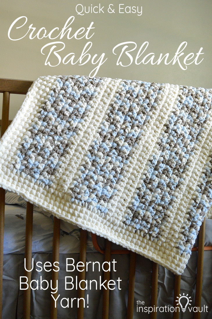 Bernat Crochet Baby Blanket New Quick & Easy Crochet Baby Blanket the Inspiration Vault Of Wonderful 44 Models Bernat Crochet Baby Blanket