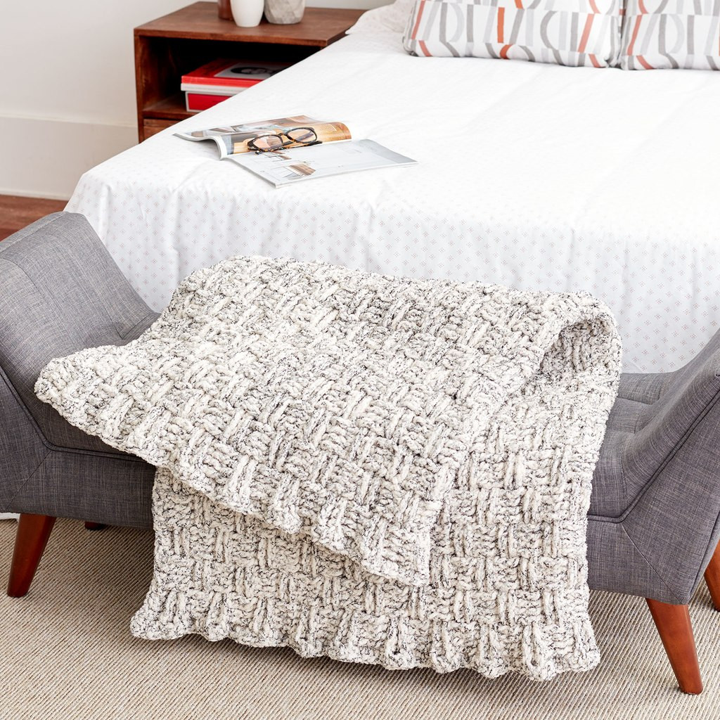Bernat Crochet Blanket New Bernat Blanket™ Basketweave Crochet Blanket Of Incredible 49 Images Bernat Crochet Blanket