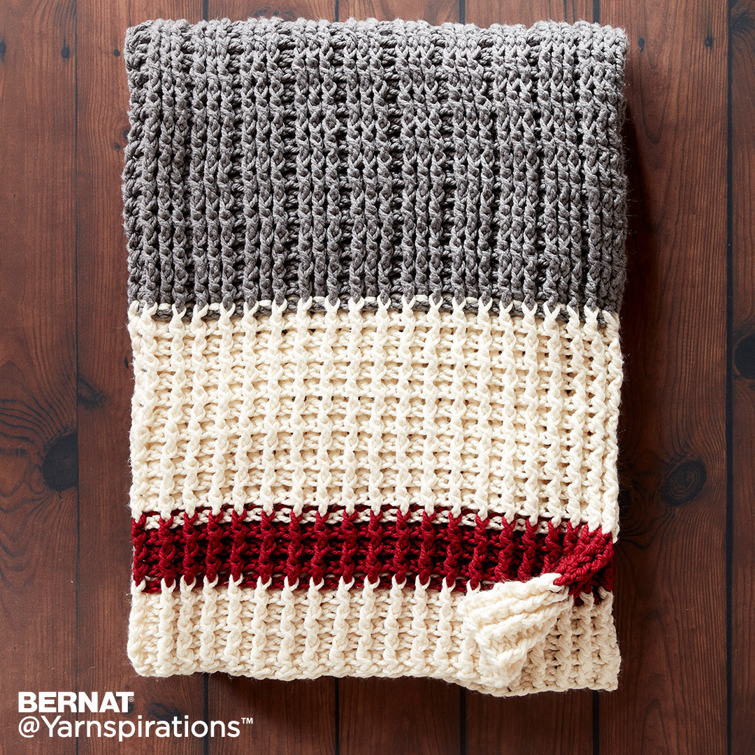 Bernat Crochet Patterns Awesome Lumberjack Crochet Throw Crochet Pattern Bernat Of Awesome 45 Photos Bernat Crochet Patterns