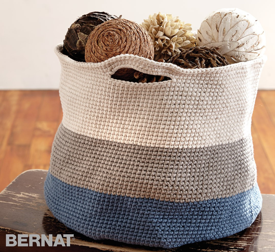 Bernat Crochet Patterns Best Of Bernat Handy Basket Crochet Pattern Of Awesome 45 Photos Bernat Crochet Patterns