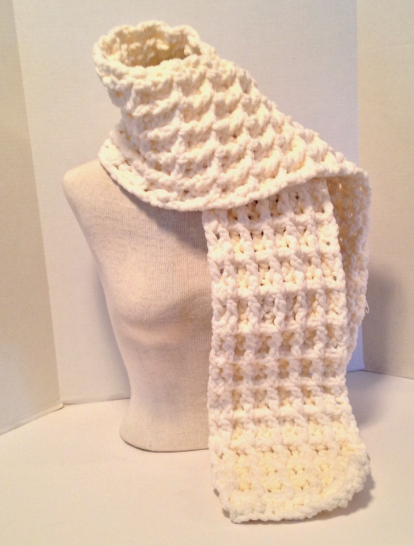Bernat Crochet Patterns Best Of Crochet Pattern Chunky Waffle Stitch Baby Blanket and Scarf Of Awesome 45 Photos Bernat Crochet Patterns