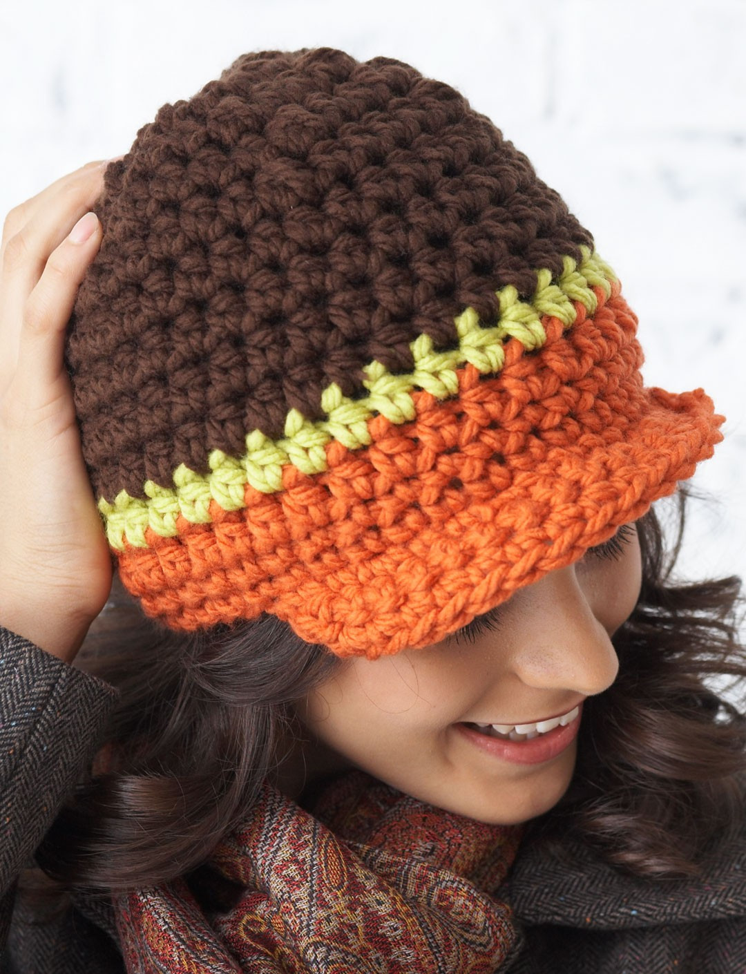 Bernat Crochet Patterns Lovely Bernat Peak Hat Crochet Pattern Of Awesome 45 Photos Bernat Crochet Patterns