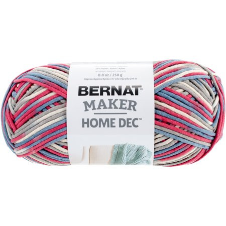 Bernat Maker Home Dec Yarn Fresh Bernat Maker Home Dec Yarn Nautical Variegate Walmart Of Charming 45 Ideas Bernat Maker Home Dec Yarn