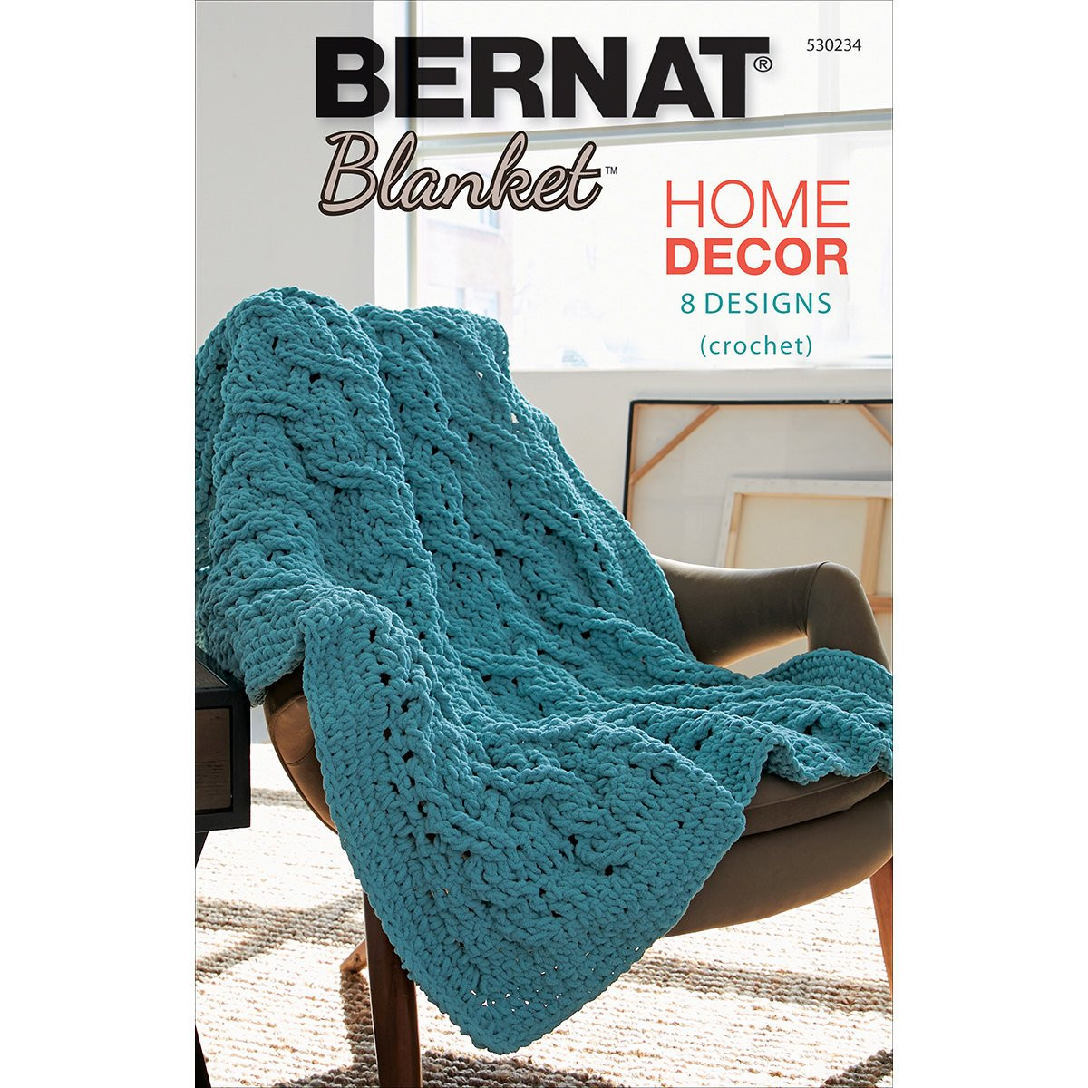 Bernat Maker Home Dec Yarn New Bernat Blanket Yarn Home Decor Book 8 Crochet Patterns Using Of Charming 45 Ideas Bernat Maker Home Dec Yarn