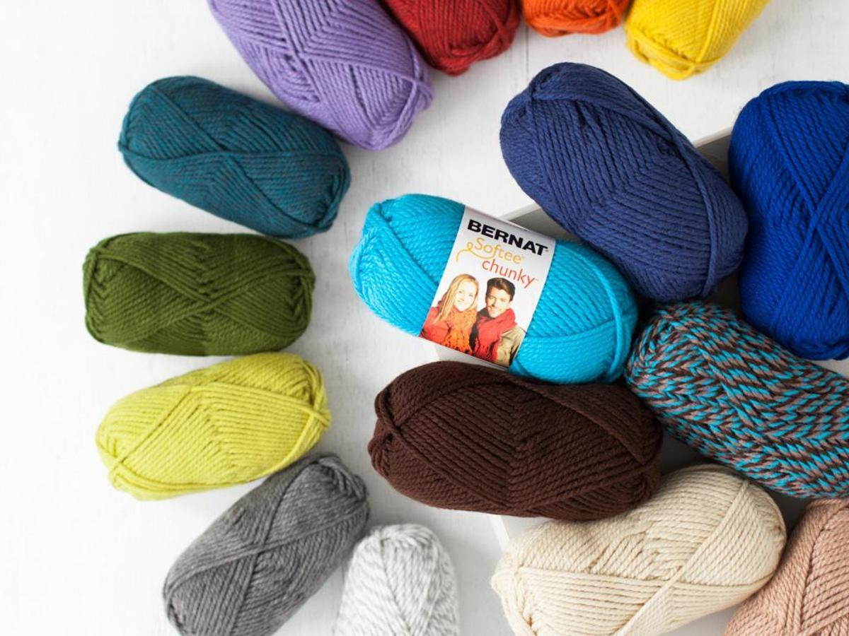 Bernat Softee Chunky and Softee Chunky Ombres Yarn