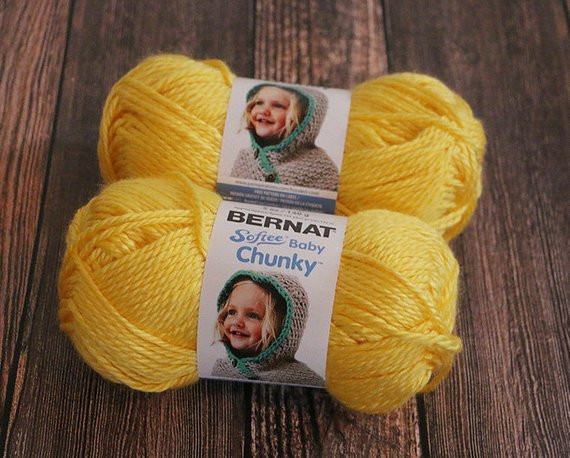 Bernat softee Chunky Luxury Bernat softee Baby Chunky Yarn Yellow Bulky Yarn Acrylic Of Delightful 50 Images Bernat softee Chunky
