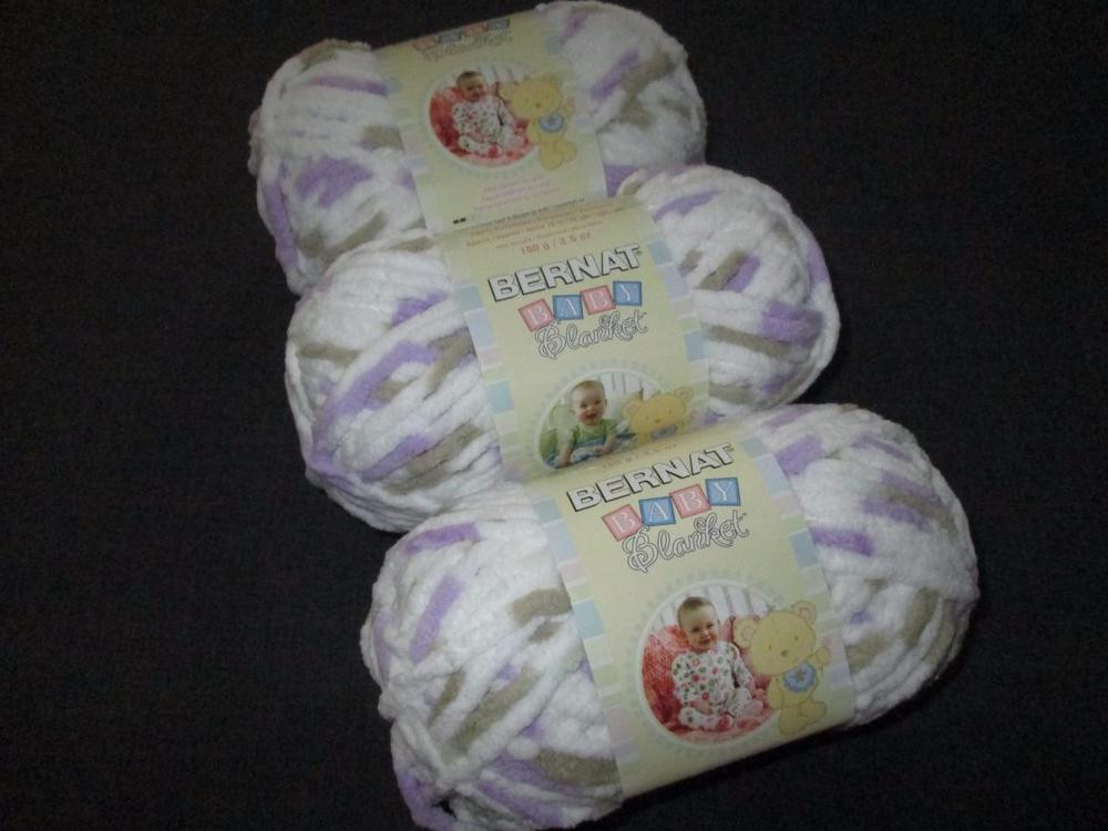 Bernat Super Bulky Yarn Best Of Bernat Baby Blanket Super Bulky Yarn Lot Of 3 Skeins Of Luxury 41 Ideas Bernat Super Bulky Yarn