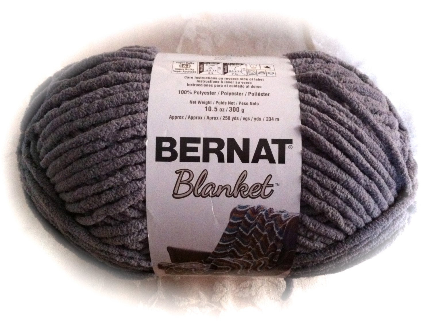 Bernat Super Bulky Yarn Fresh Dark Grey Bernat Blanket 10 5oz 258 Yds 300g Of Luxury 41 Ideas Bernat Super Bulky Yarn