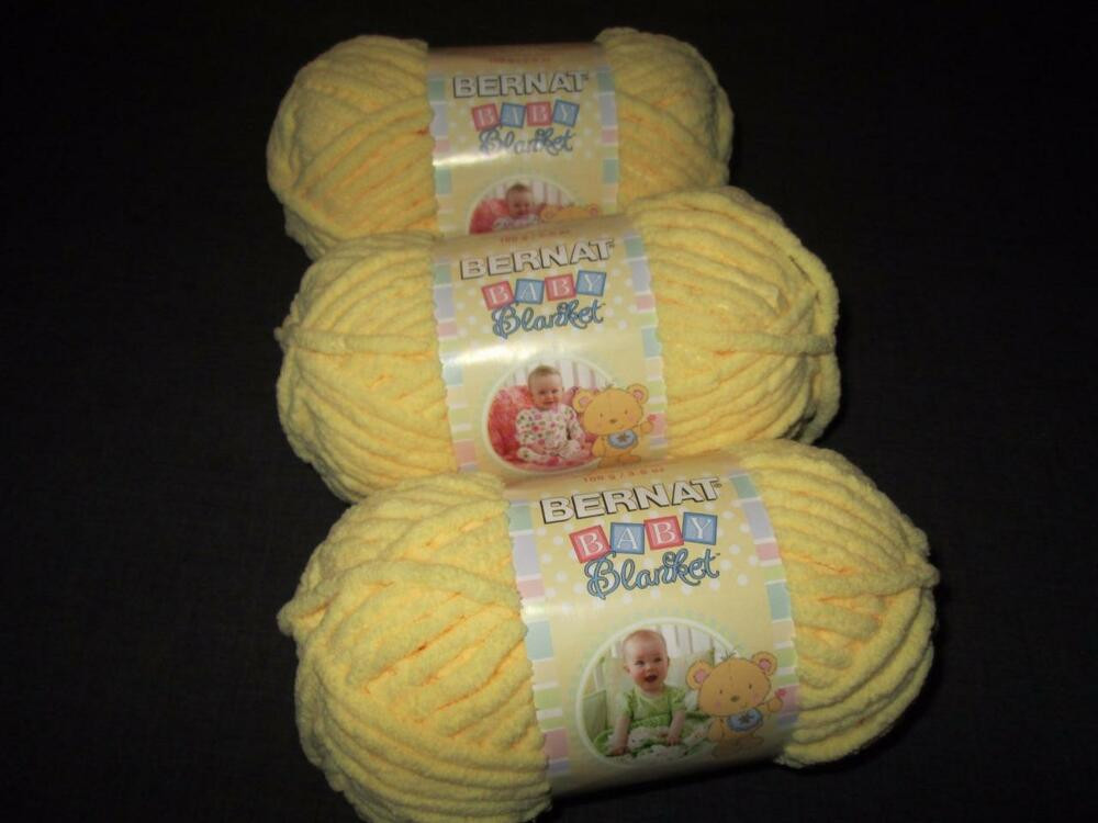 Bernat Super Bulky Yarn Lovely Bernat Baby Blanket Super Bulky Yarn Lot Of 3 Skeins Of Luxury 41 Ideas Bernat Super Bulky Yarn