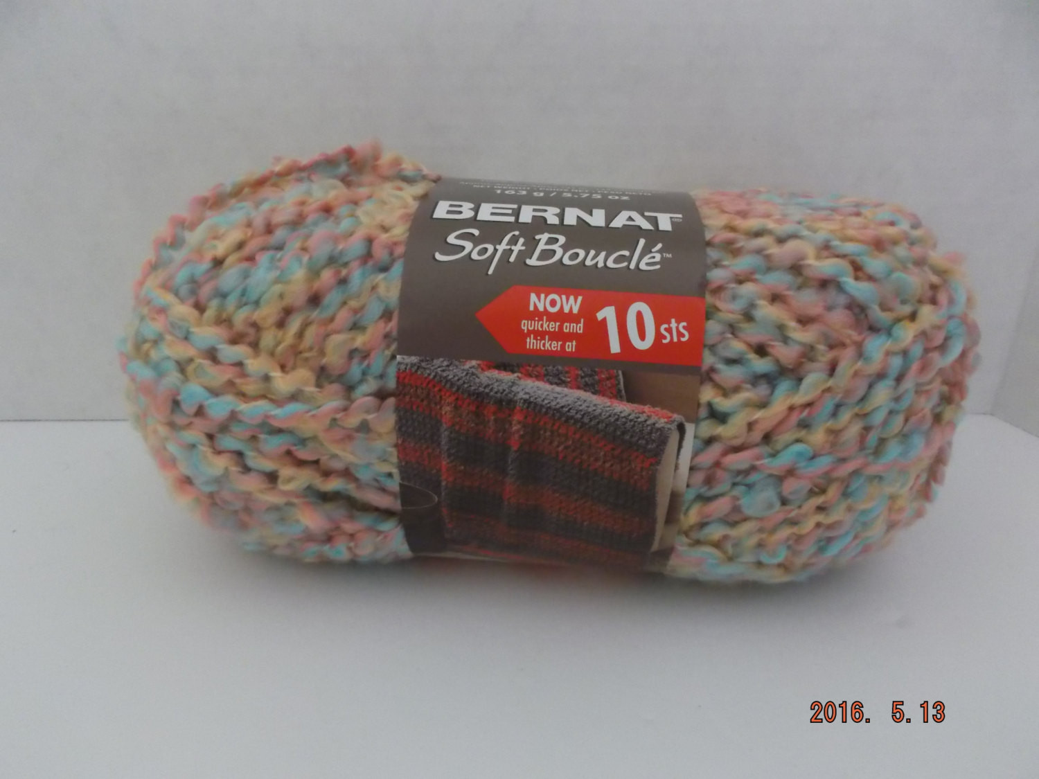 Bernat Soft Boucle Yarn Colour Pastel Palette 163