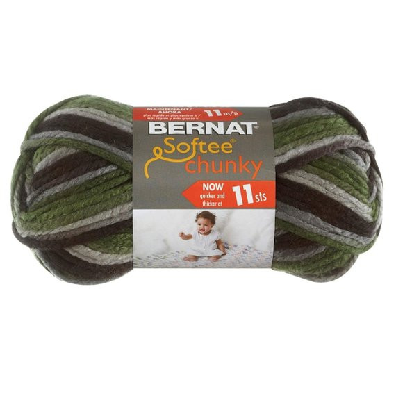 Bernat Super Bulky Yarn New Dad S Scarf Bernat softee Chunky Super Bulky Yarn Camo Of Luxury 41 Ideas Bernat Super Bulky Yarn