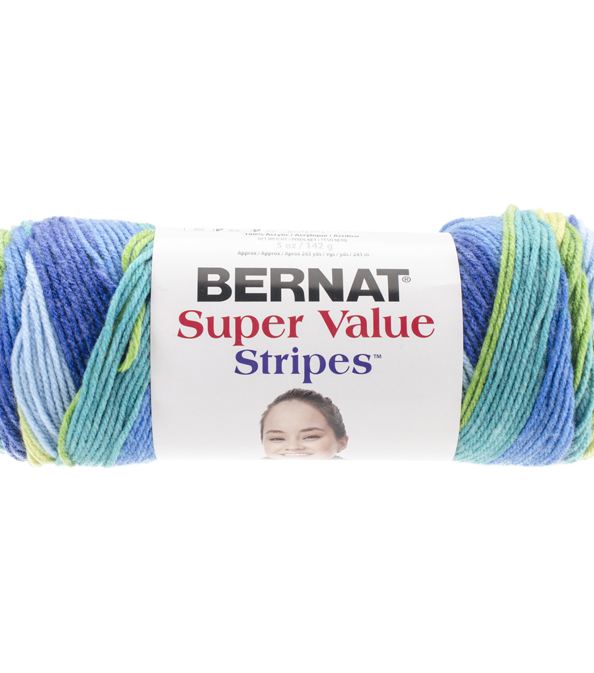 Bernat Super Value Stripes Yarn JoAnn
