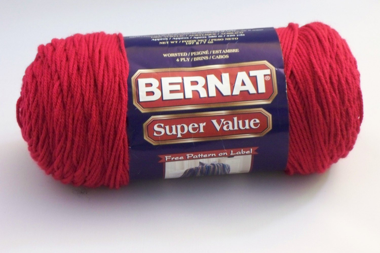 Bernat Super Value Awesome Yarn Bernat Super Value Yarn Cherry Red Of Beautiful 46 Pics Bernat Super Value