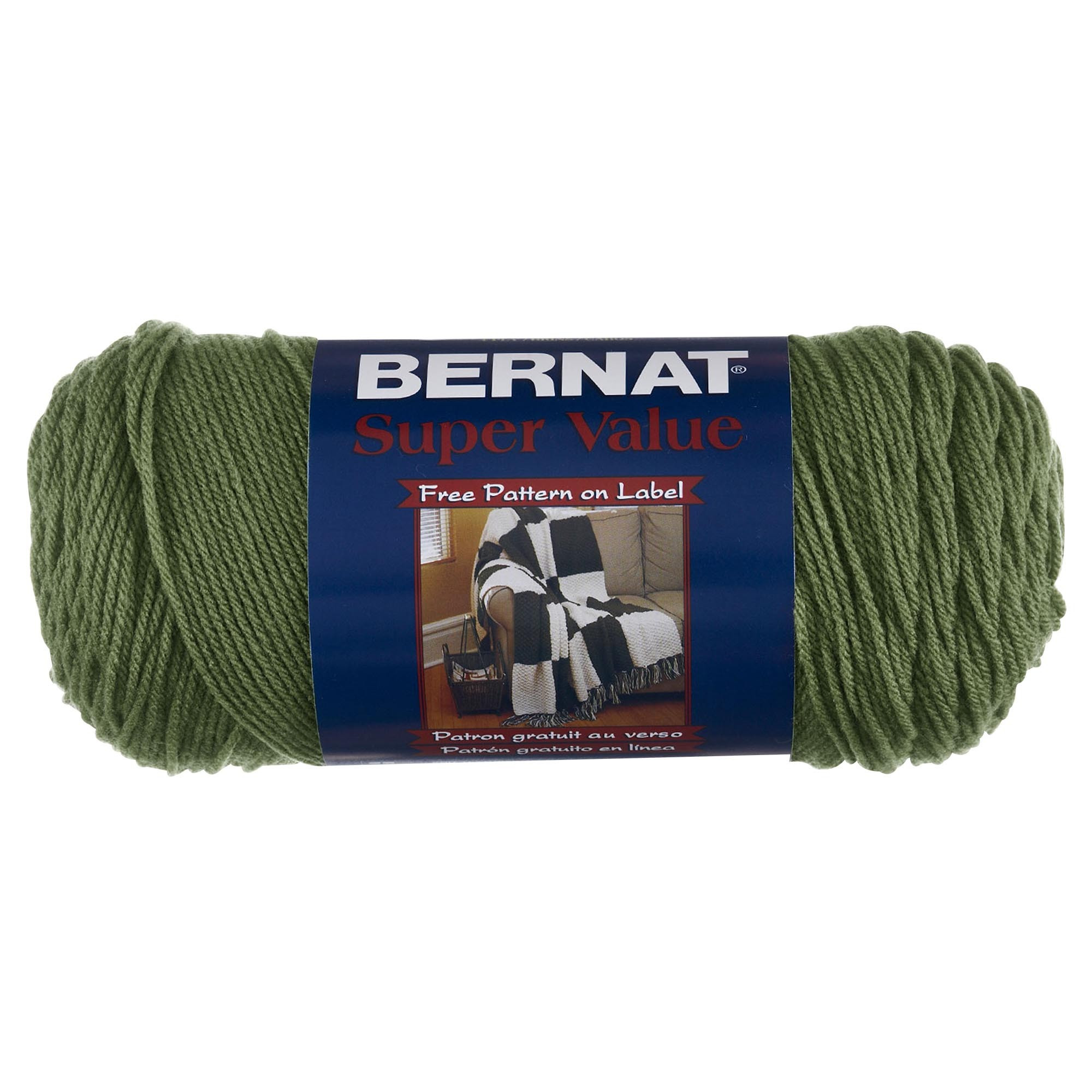 Bernat Super Value Knitting Yarn 197g 142g