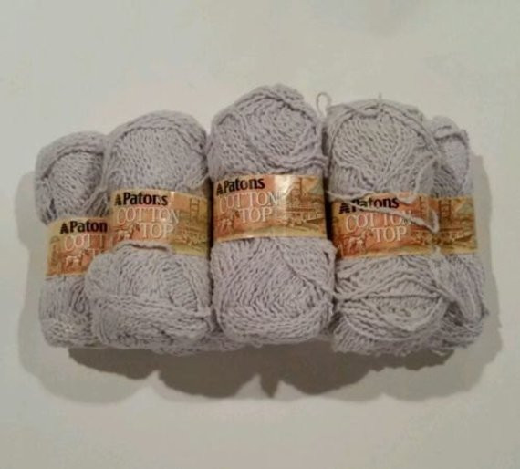 Best Cotton Yarn Awesome Patons Cotton top Yarn Light Gray Lot Of 7 Free Shipping Of Unique 44 Ideas Best Cotton Yarn
