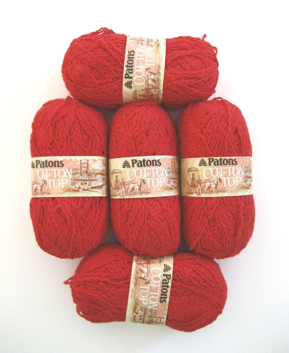 Best Cotton Yarn Elegant Red Worsted Yarn Patons Cotton Yarn Textured Destashed Of Unique 44 Ideas Best Cotton Yarn