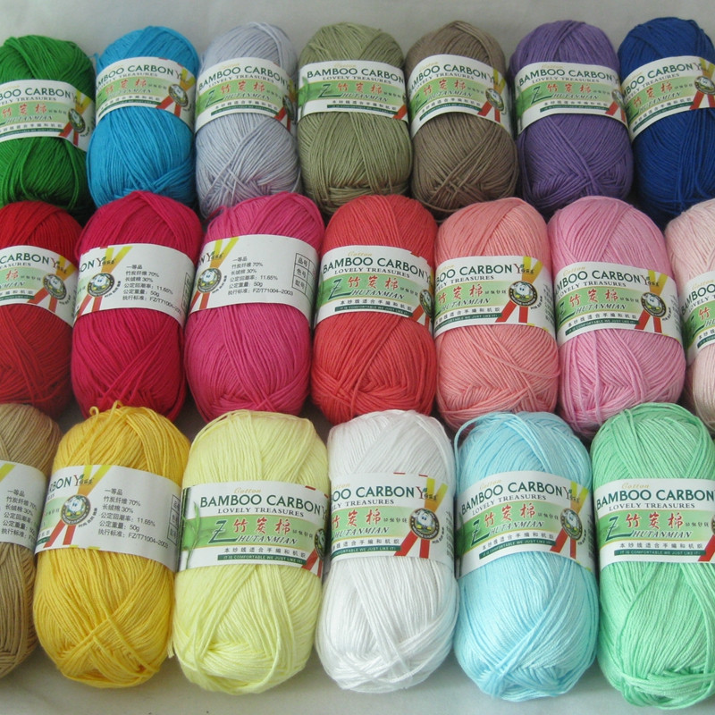 Best Cotton Yarn Inspirational Aliexpress Buy 500g 10pcs soft Smooth Natural Bamboo Of Unique 44 Ideas Best Cotton Yarn