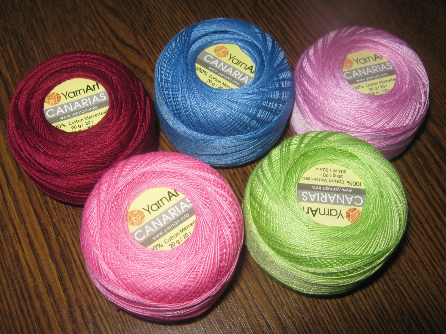 Crochet yarn Canarias cotton yarn lace yarn crochet thread