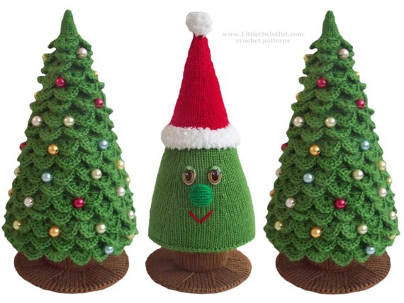 Best Of 009 Knitting Branches are Crochet Pattern Christmas Tree Crochet Christmas Trees Of Marvelous 46 Ideas Crochet Christmas Trees
