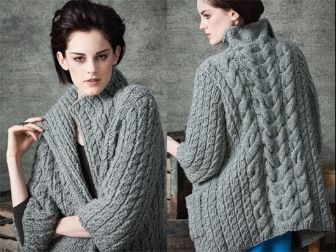 Best Of 1 Long Cardigan Vogue Knitting Early Fall 2010 Designer Knitting Patterns Of Incredible 48 Pics Designer Knitting Patterns