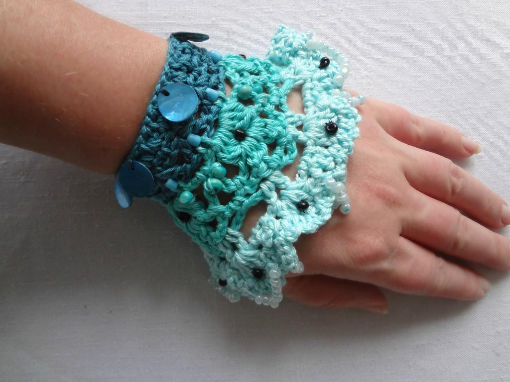 10 Creative Crochet Bracelet Patterns