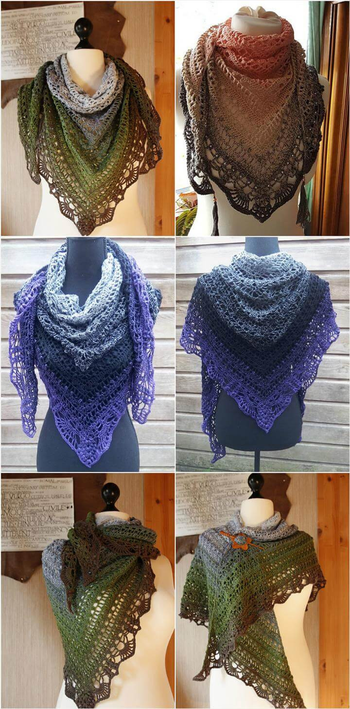 10 FREE Crochet Shawl Patterns for Women s