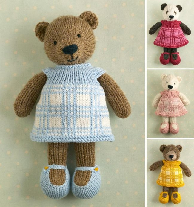 Best Of 10 Teddy Bear Knitting Patterns the Funky Stitch Knitted Bear Pattern Of Brilliant 42 Photos Knitted Bear Pattern