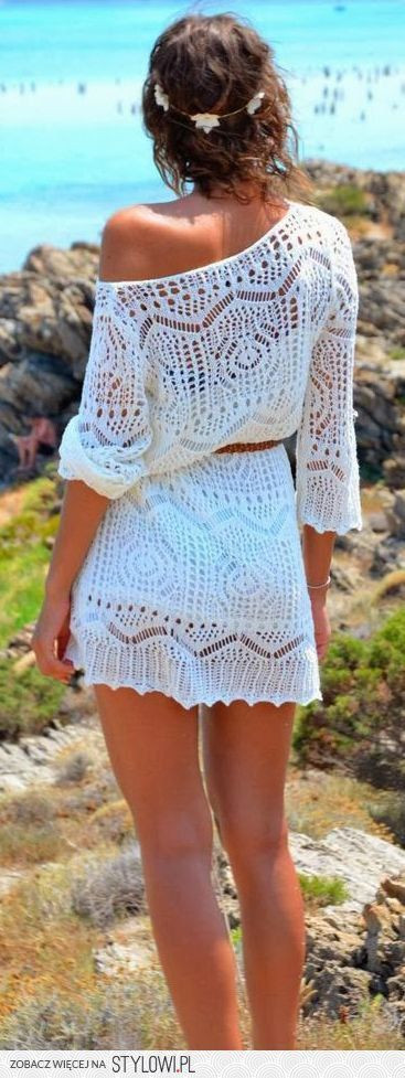 Best Of 100 Fall Outfit Ideas to Copy Right now White Crochet Beach Dress Of Brilliant 42 Pics White Crochet Beach Dress
