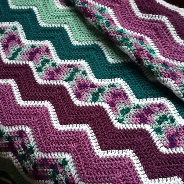 Best Of 1000 Ideas About Zig Zag Crochet On Pinterest Zig Zag Crochet Afghan Pattern Of New 43 Pics Zig Zag Crochet Afghan Pattern