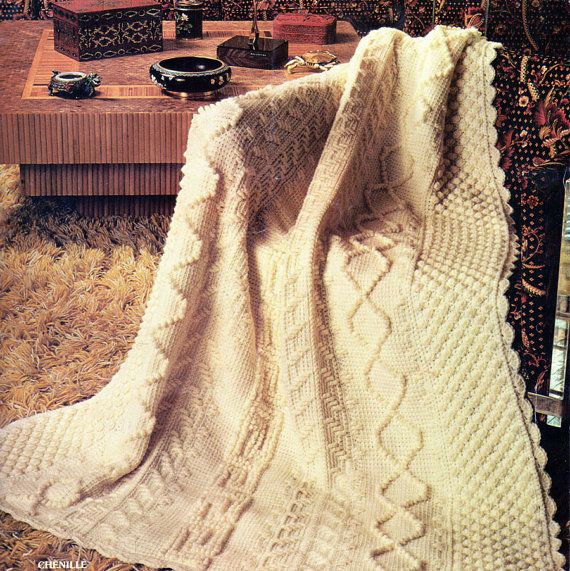 Best Of 1000 Images About Aran Crochet & Knitting On Pinterest Aran Crochet Afghan Pattern Of Gorgeous 41 Pics Aran Crochet Afghan Pattern