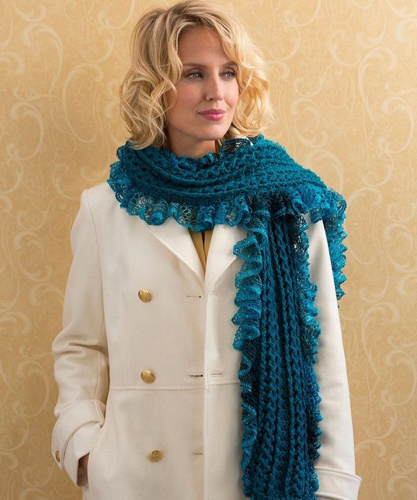 Best Of 1000 Images About Crochet Scarves & Cowls On Pinterest Sashay Scarf Of Fresh 40 Models Sashay Scarf