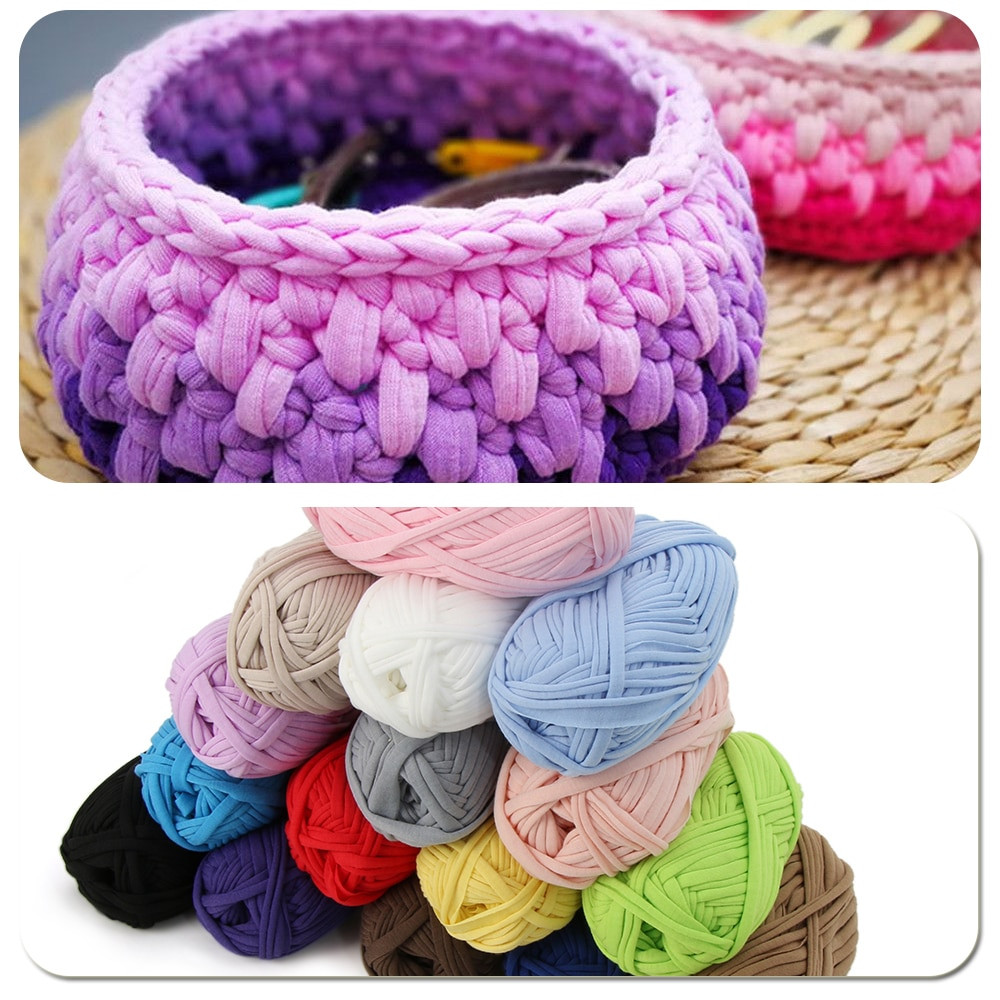 Best Of 100g Home Colourful Diy Crochet Cloth Carpets Yarn Cotton Hand Crochet Yarn Of Delightful 43 Models Hand Crochet Yarn