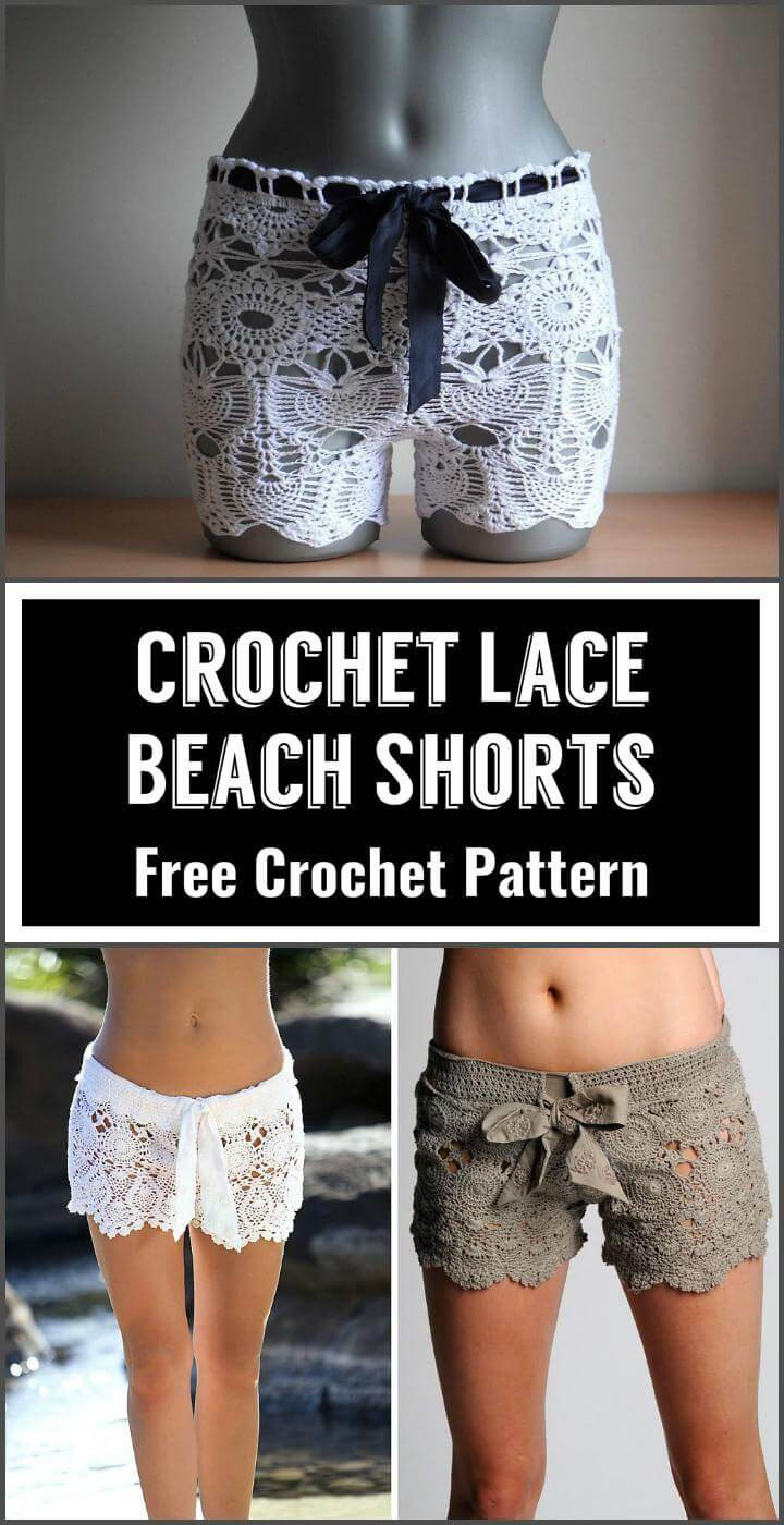Best Of 110 Free Crochet Patterns for Summer and Spring Page 6 Crochet Lace Shorts Of Unique 47 Photos Crochet Lace Shorts