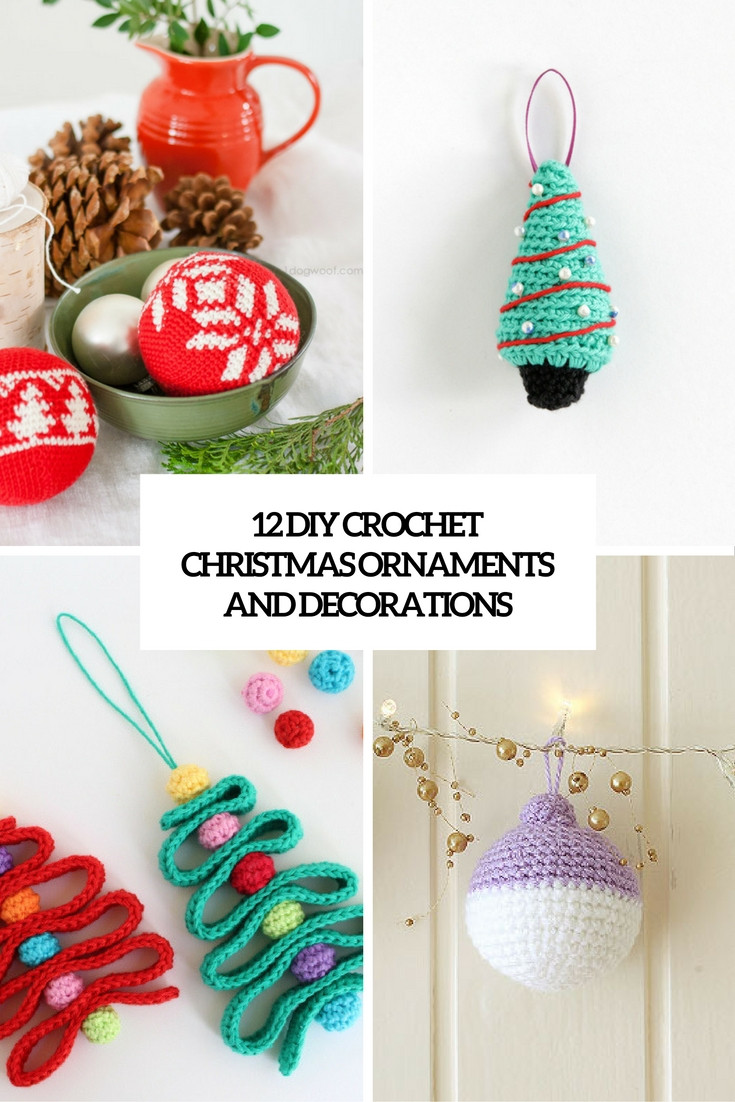 Best Of 12 Diy Crochet Christmas ornaments and Decorations Crochet Christmas Decorations Of Perfect 50 Ideas Crochet Christmas Decorations