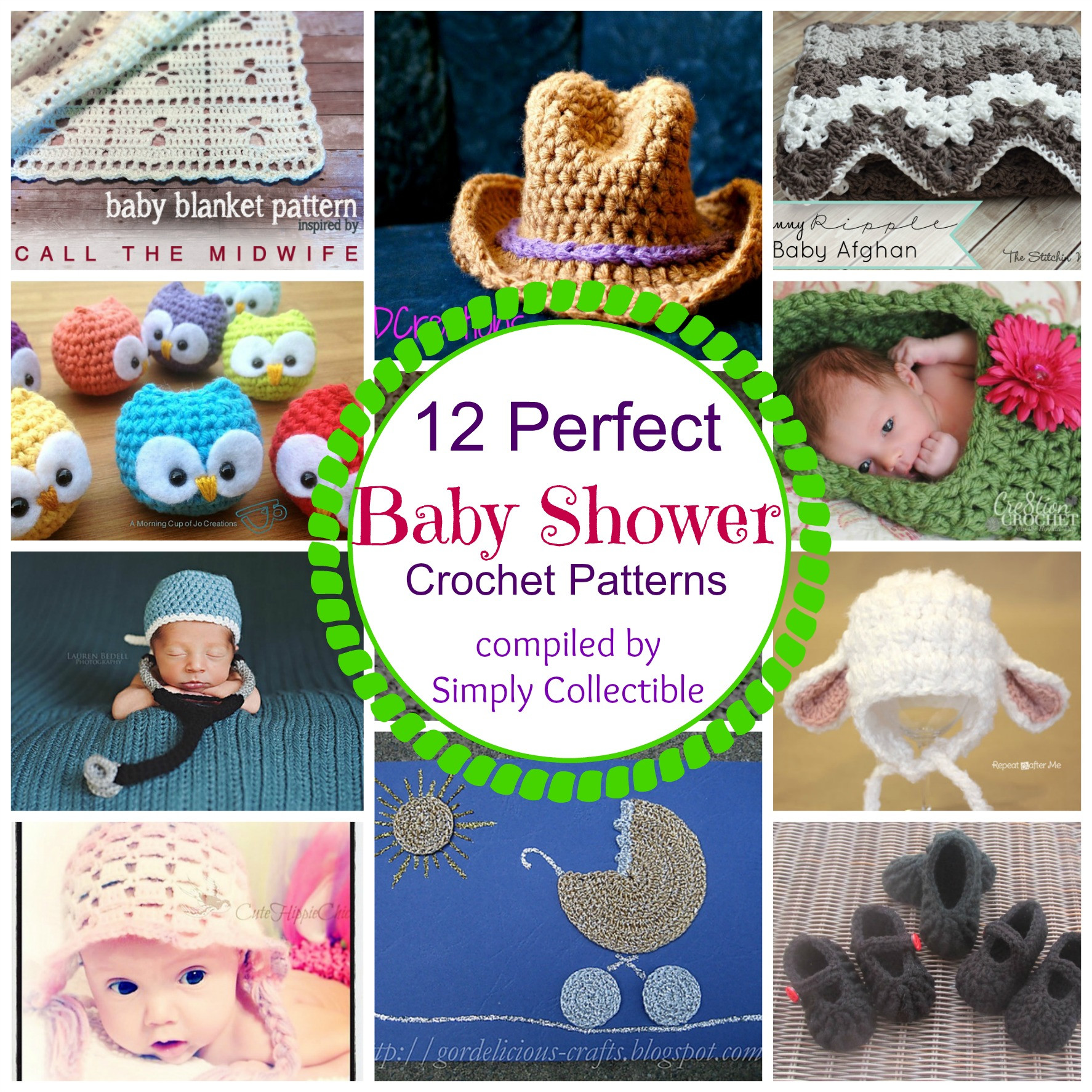 Best Of 12 Perfect Baby Shower Crochet Patterns Crochet Baby Gift Of Innovative 49 Models Crochet Baby Gift