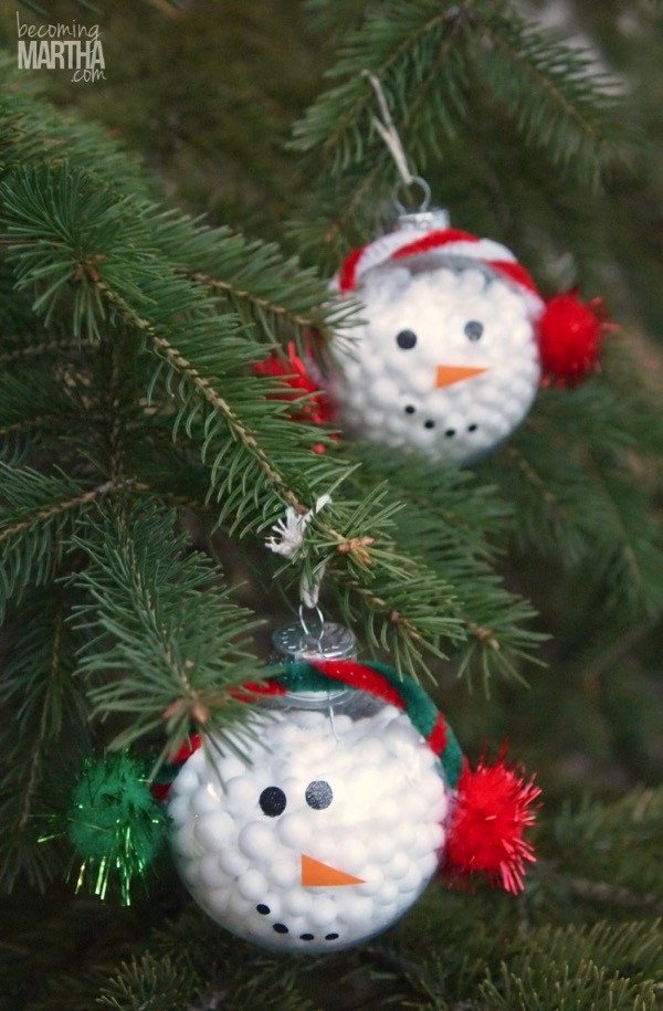 Best Of 13 Handmade Christmas ornaments Using Vinyl Snowman Christmas ornaments Of Adorable 45 Models Snowman Christmas ornaments