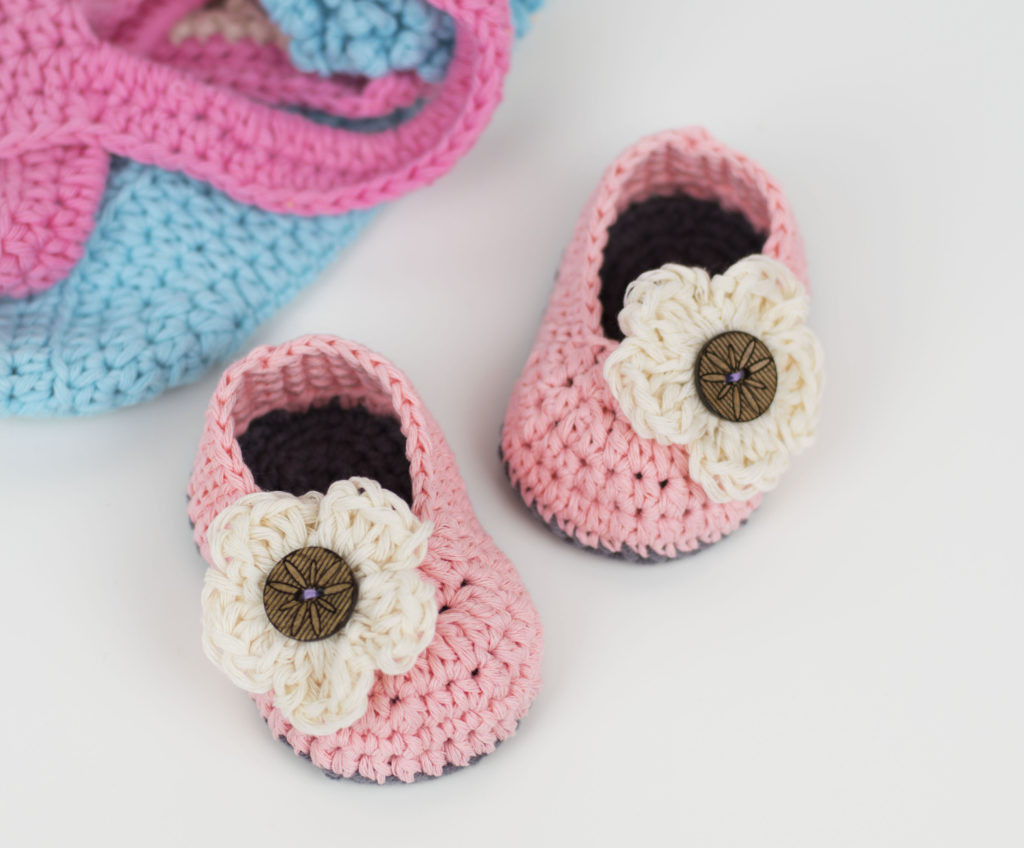 15 of the Cutest Crochet Baby Bootie Patterns Dabbles