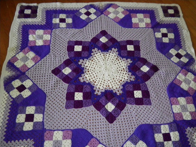 Best Of 17 Best Images About Blue Star Crocheted Afghan On Crochet Star Afghan Pattern Of New 45 Photos Crochet Star Afghan Pattern