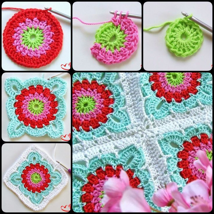 17 Best images about Crochet or Knit Circles Hexagons