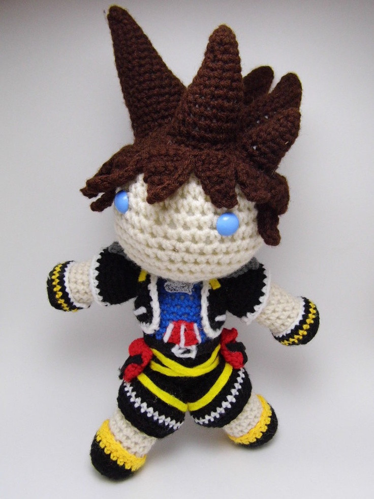 Best Of 17 Best Images About Fandom Kingdom Hearts On Pinterest Crochet Kingdom Of Gorgeous 50 Pictures Crochet Kingdom