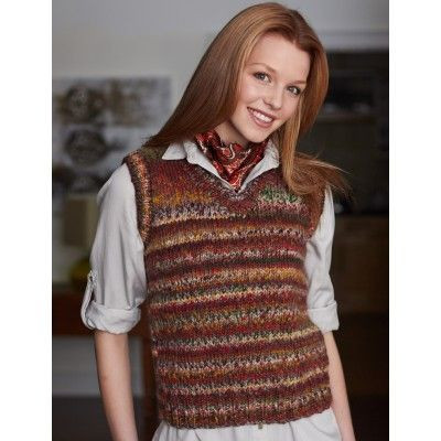 17 Best images about Free Knit Vest Patterns on Pinterest