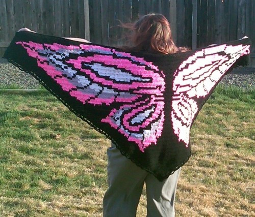 Best Of 17 Best Images About Scarfs Shawls and Ponchos On butterfly Shawl Of Wonderful 44 Pics butterfly Shawl