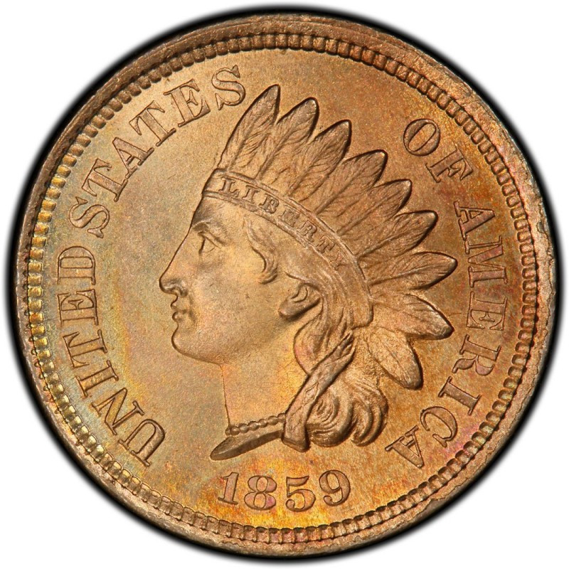 Best Of 1859 Indian Head Pennies Values and Prices Past Sales Indian Penny Value Of Delightful 40 Pics Indian Penny Value