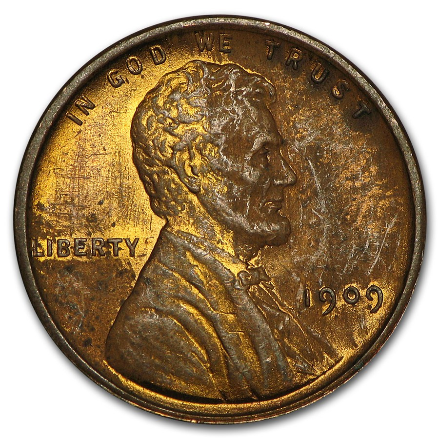 Best Of 1909 Vdb Lincoln Cent Au Silver Wheat Penny Of Awesome 48 Pics Silver Wheat Penny