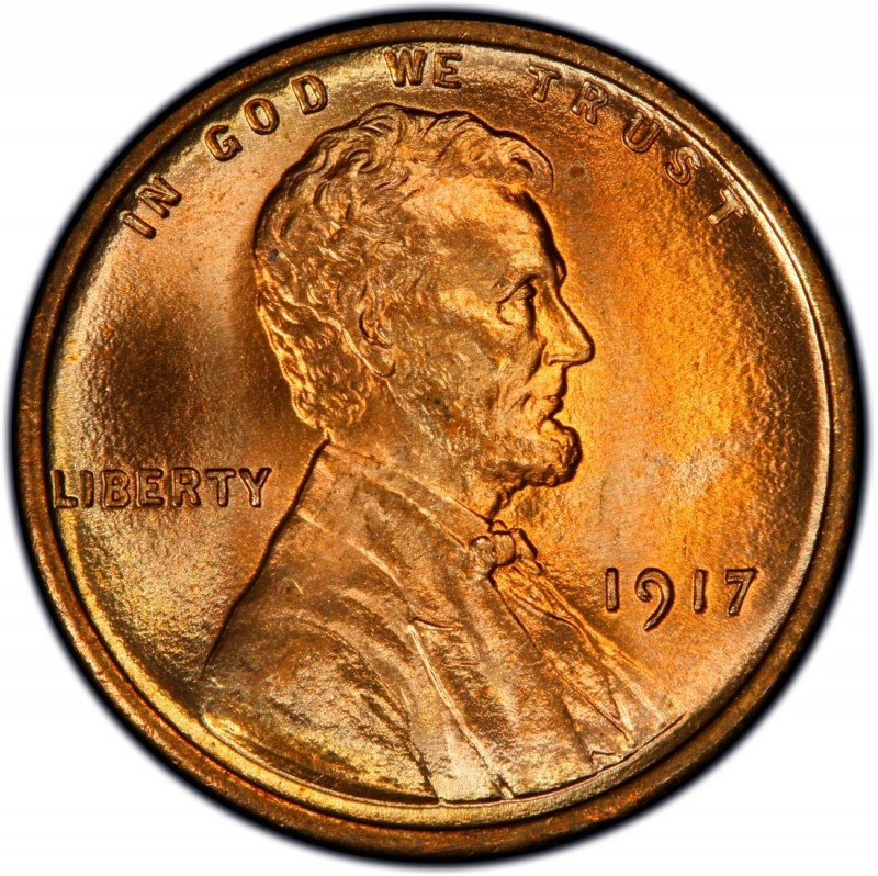 1917 Lincoln Wheat Pennies Values and Prices Past Sales