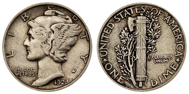 Best Of 1923 Mercury Silver Dimes Value and Prices Mercury Dime Prices Of Superb 49 Ideas Mercury Dime Prices