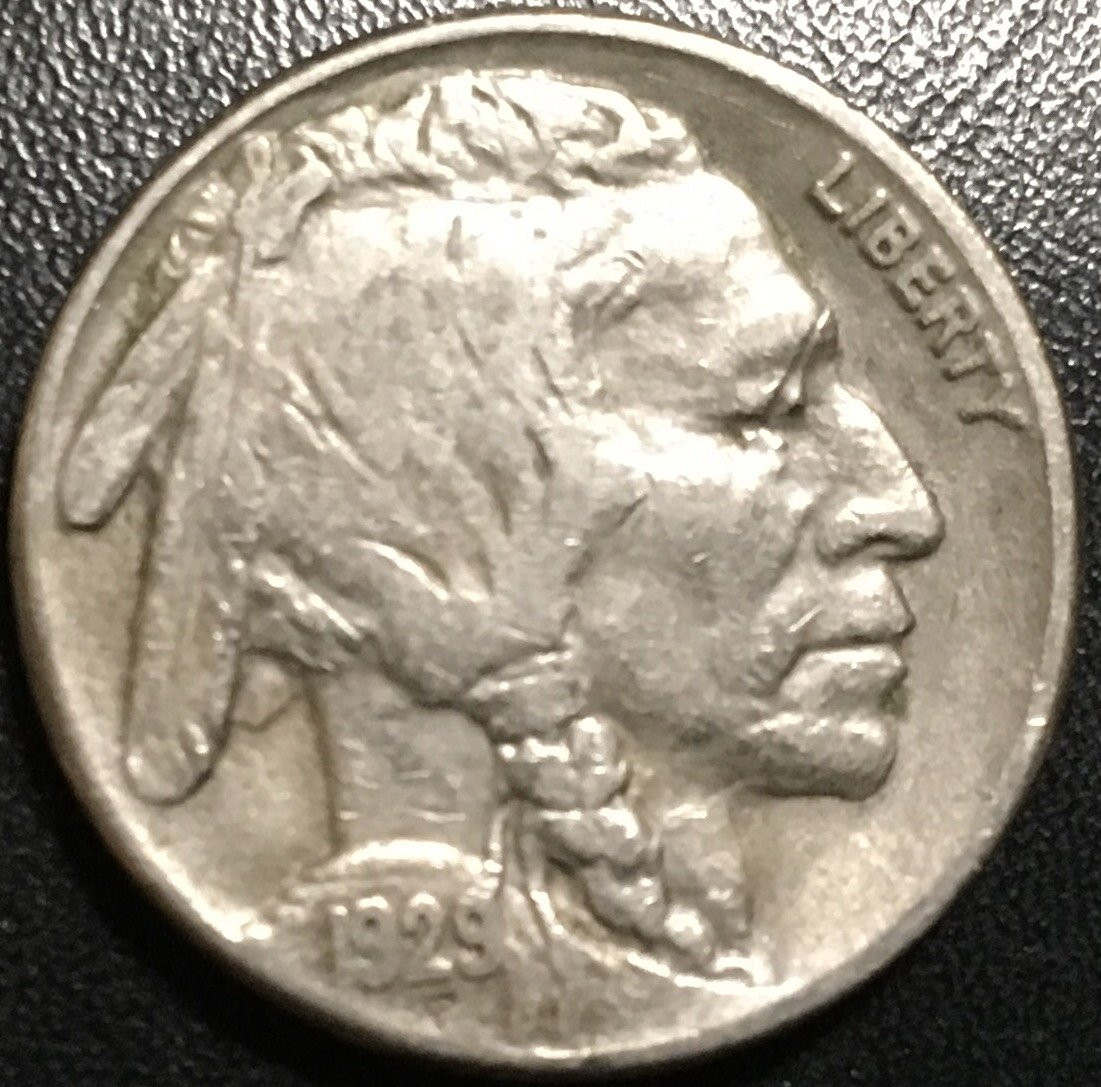 1929 S Buffalo Nickel for sale now online Item