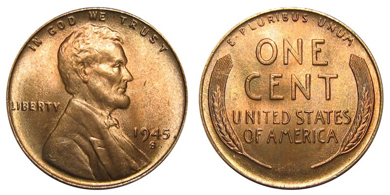Best Of 1945 S Lincoln Wheat Cent Bronze Posite Penny Value Lincoln Cent Values Of Amazing 50 Images Lincoln Cent Values