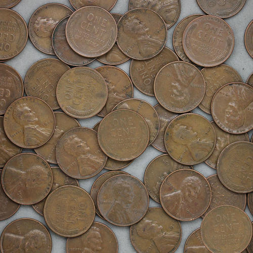 Best Of 1946 Lincoln Wheat Cent Roll 50 Circulated Pennies Us Wheat Penny Rolls Of Awesome 43 Photos Wheat Penny Rolls
